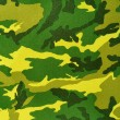 Textile camouflage pattern - Stock Photo