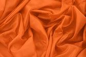 Orange satin — Stock Photo