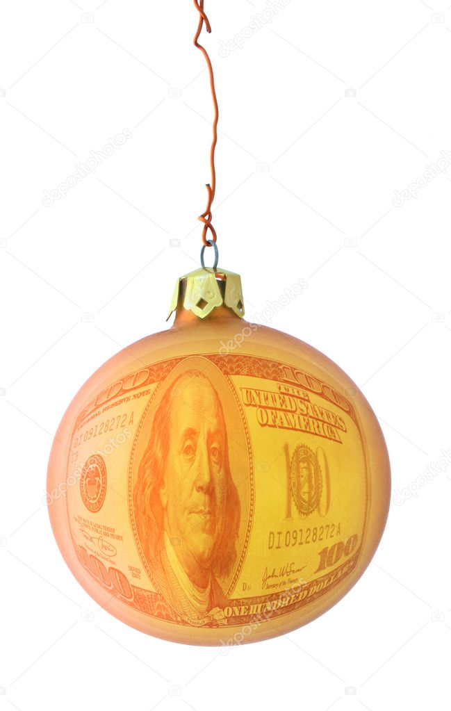 Expensive christmas metaphor, photo does not infringe any copyright — Stok fotoğraf #2675924