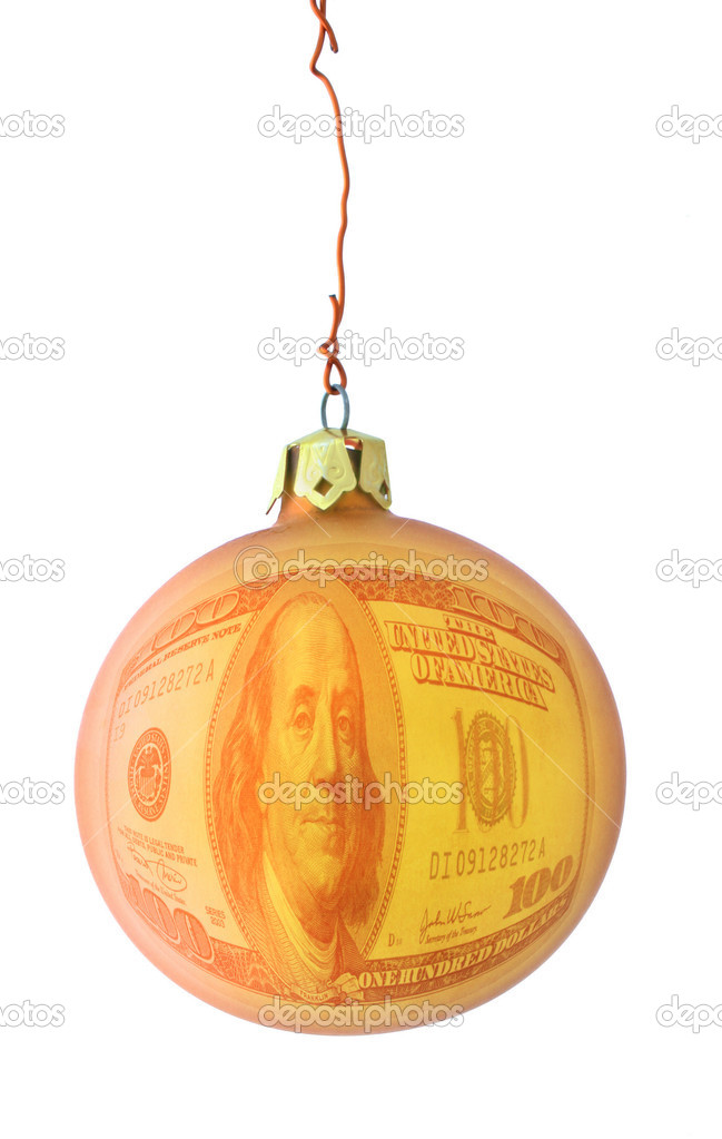 Expensive christmas metaphor, photo does not infringe any copyright — Foto Stock #2675924