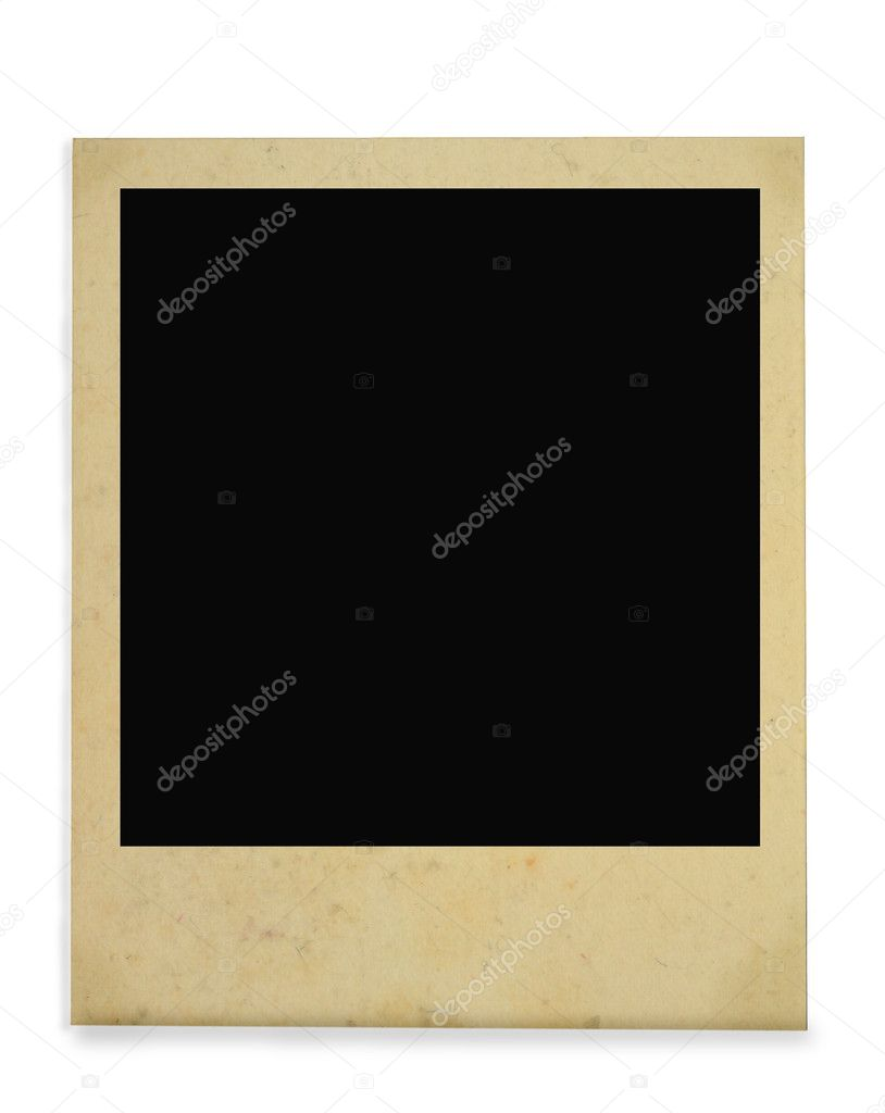 Vintage photo frame isolated on white background — Stock Photo #2676145