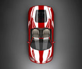 Rotes auto — Stockfoto