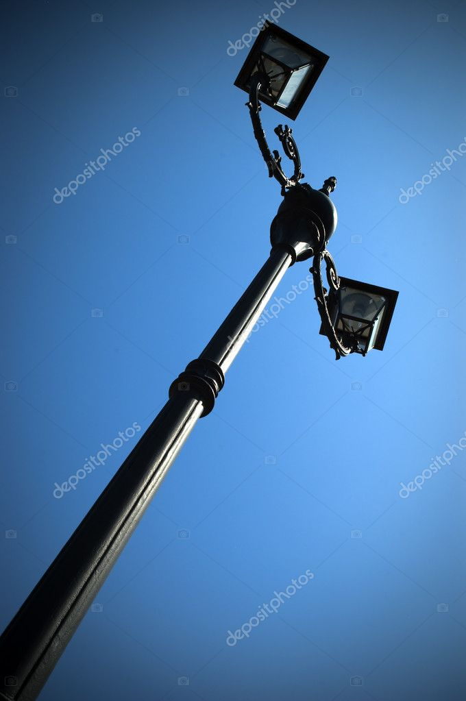 A streetlamp in the sky — Stock Photo #2169604