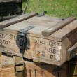 Stock Photo: Ammo box from Second World War