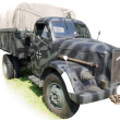 Royalty-Free Stock Photo: Military truck from Second World War