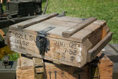 Ammo box from Second World War — Stok fotoğraf