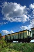 Train wagons — Stock Photo
