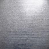 Brushed silver aluminum — Stock Photo