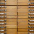 Old drawers — Stock Photo