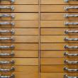 Stock Photo: Old drawers