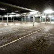 Stock Photo: Empty parking level