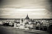 Parliament of Hungary, Budapest — Stock Photo
