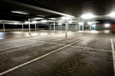 Empty parking level — Stock Photo
