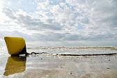 Sunny sandy beach — Stock Photo