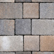 Paving stones for terrace construction - Stock Photo