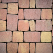 Paving stones for terrace construction — Stock Photo