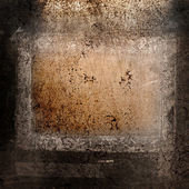 Grunge Background with frame — Stock Photo