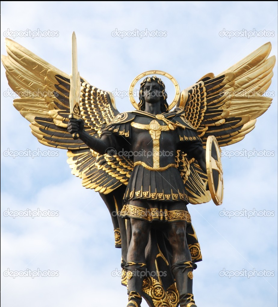 """""""Force Backs"""" from Ancient Relics Depositphotos_2686107-Archangel-michael"""