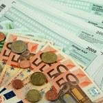 Alman vergi formu 2009 — Stok fotoğraf