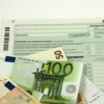 German tax form 2009 — Stock Photo