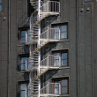 Stock Photo: External staircase
