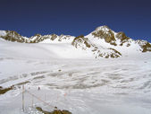 Glacier de Chaviere — Stock Photo