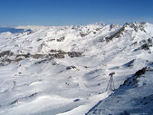 Val Thorens — Foto de Stock