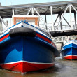 Stock Photo: Prow of barge