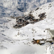 Stock Photo: Val Thorens with cablecar