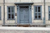 Old front door — Stock Photo