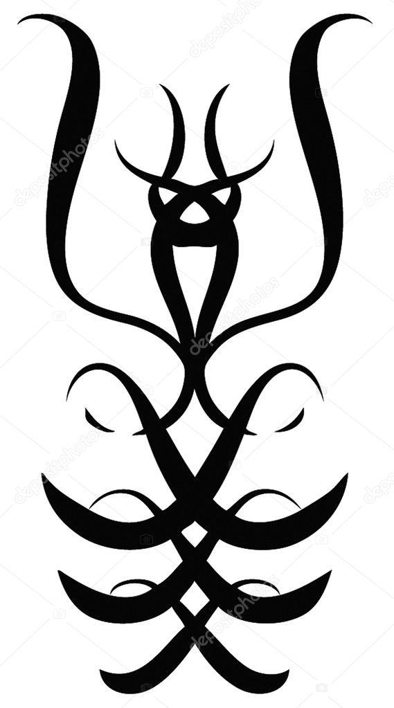 Modern tribal tatoo — Stock Vector #2416056