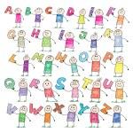 Doodle alphabet — Stock Vector #2527406