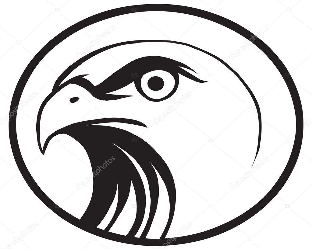 老鹰标志 — 图库矢量图像08