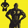 Bodybuilder — Stock Vector #2673225