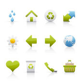 Icon Set - Ecology — Stock Vector