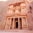 Stockfoto: Treasury in Petra