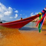 Traditional Thai Boat — Stock Photo #2156084