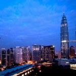 Night view of Kuala Lumpur — Stock Photo #2208069
