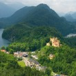 Stock Photo: Hohenschwangau castle in GermAlps