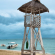 Lifeguard tower - Stock Photo