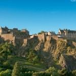 Edinburgh Castle, Scotland, UK — Stock Photo #2208285