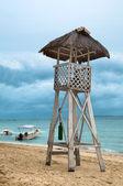 ライフガード タワー — ストック写真