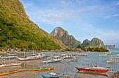 Philippino boats — Stock Photo