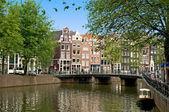 Amsterdam Channel — Stock Photo