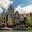 Old houses in Amsterdam — Stock Photo #2600050