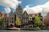 Old houses in Amsterdam — Photo