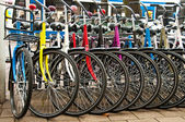 Bikes for rent — Stock Photo