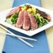 Seared Sesame Tuna Salad — Stock Photo