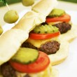 Mini Burgers - Stock Photo
