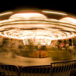 Stock Photo: Spinning Carousel